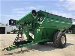 2010 J&M 1051 Grain Storm Grain Cart