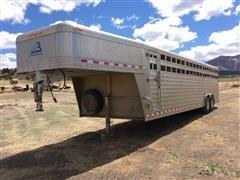 2010 Elite T/A Aluminum Livestock Trailer