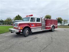 1992 International 4900 S/A Fire Truck