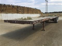 1966 Hobbs T/A Flatbed Trailer