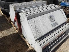 Road Gear Aluminum Step Tool Boxes & Truck Parts