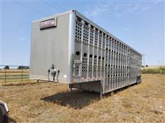 2008 EBY 50' T/A Livestock Trailer