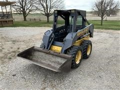 New Holland LS140 Super Boom Skid Steer