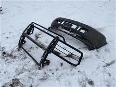 2003 Ford F350 Front Bumper & Deezee Brush Guard