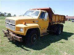 1988 Ford F800 S/A Dump Truck