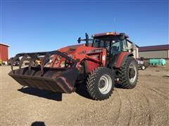 2004 Case IH MXM130 MFWD Tractor & LX162 Loader