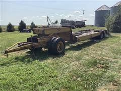 1969 Martin Machine 25 Ton T/A Fixed Neck Lowboy W/Front Dolly