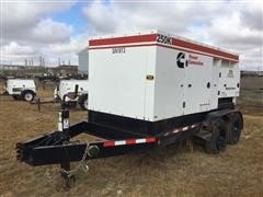 2013 Cummins C200D6R Trailer Mounted Generator (INOPERABLE)