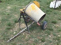 Portable Cement Mixer