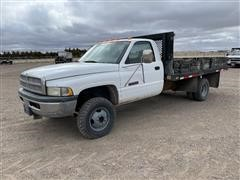 1999 Dodge RAM 3500 2WD Flatbed Pickup