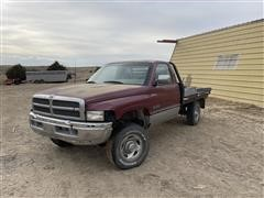 1994 Dodge Ram 2500 4x4 Pickup W/besler Bale Bed (INOPERABLE)