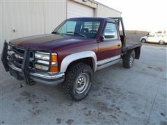 1994 Chevrolet Silverado 2500 4x4 Flatbed Pickup
