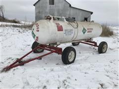 1000 Gallon Anhydrous Nurse Tank