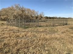 Powder River Round Livestock Pen