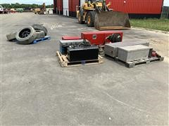 Misc Truck Parts Including Tires, Tool Boxes & More