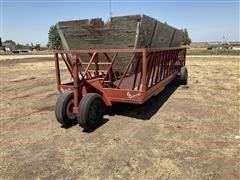 Apache WFW20A1 Portable Ground Hay Feeder