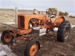 Allis-Chalmers 2WD Tractor (INOPERABLE)
