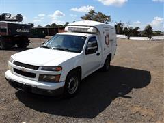 2010 Chevrolet Colorado Food Delivery Pickup