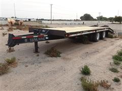 1999 Trail King TK20 T/A Flatbed Trailer