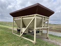 Redi Mix Hopper W/Conveyer System