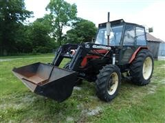 Zetor 7745 MFWD Tractor W/Westendorf Loader