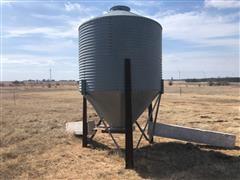 150 Bu Free Standing Grain Bin