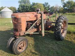 Farmall M 2WD Tractor W/Loader