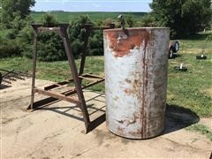Fuel Barrel And Stand