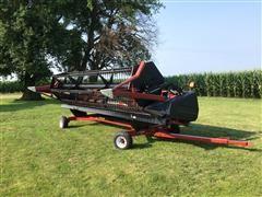 1998 Case IH 1020 Header & E-Z Trail Cart
