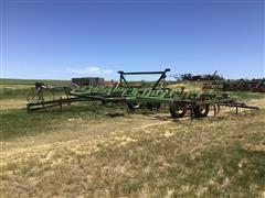John Deere 1600 Plow W/Flex-Coil Harrow