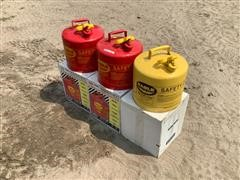 Eagle Steel Safety Fuel Cans