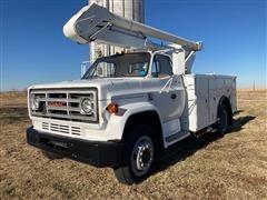 1990 GMC C7000 S/A Bucket Truck